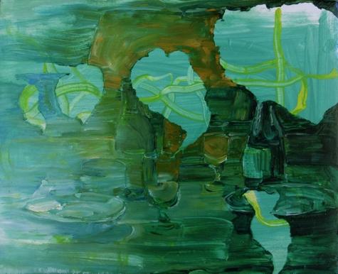 o.T.   2009   Öl auf Leinwand   52x43cm